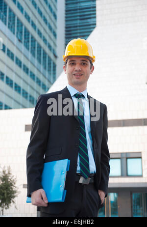 Young architect engineer - Stock Photo