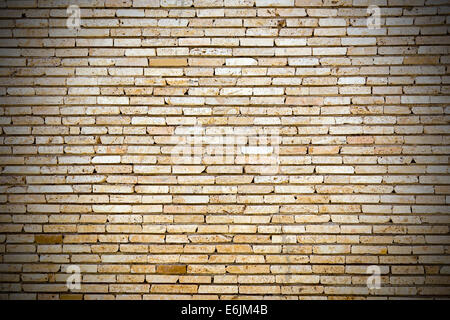 Old brick wall for use as background or texture - Stock Photo