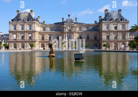 The magnificent Palais du Luxembourg in Paris. - Stock Photo