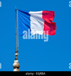The French flag.