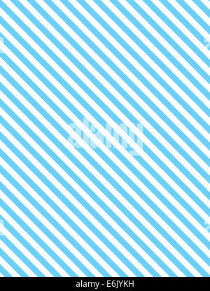 Seamless, continuous, diagonal striped background in blue and white. - Stock Photo