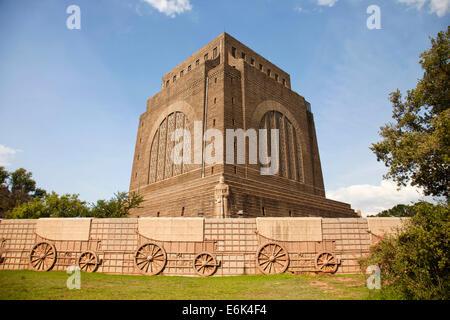 The Voortrekker Monument, Pretoria, Gauteng, South Africa - Stock Photo