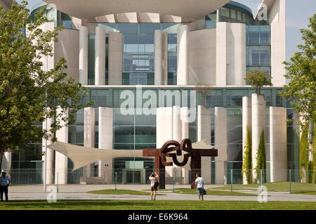 German Chancellery Bundeskanzleramt in Berlin, Germany, Europe - Stock Photo