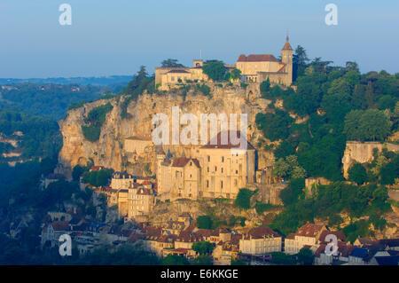 Rocamadour, Midi-Pyrenees Region, Lot Department, France, Europe - Stock Photo