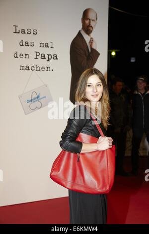 Premiere of 'Stromberg - Der Film' at Cinedom.  Featuring: Jaennine Michaelson Where: Cologne, Germany When: 18 - Stock Photo
