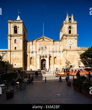 Valletta, Malta ,St. Johns Co. Cathedral ,Valletta - Stock Photo