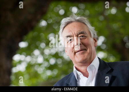 Edinburgh, Scotland, UK. 24th Aug, 2014. Max Egremont, biographer and novelist, at the Edinburgh International Book - Stock Photo
