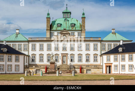 Fredensborg Palace, Fredensborg, Zealand, Denmark - Stock Photo