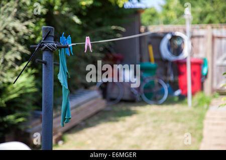 washing line post stock photo royalty free image. Black Bedroom Furniture Sets. Home Design Ideas