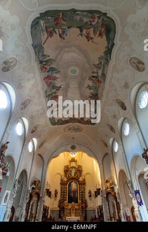 Choir, Parish church of Saints Peter and Paul, Lindenberg ...