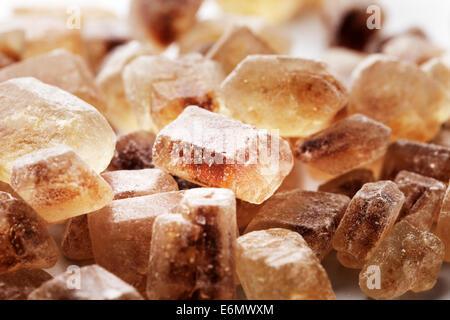 Chrystals of Candi Sugar / Rock Sugar. - Stock Photo