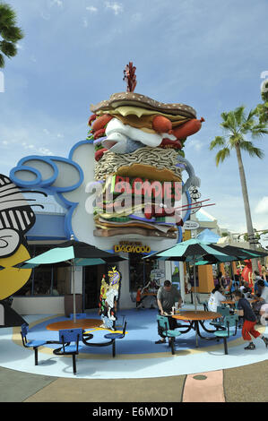 Blondie's food outlet, Universal Orlando Resort, Orlando, Florida, USA - Stock Photo