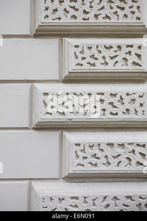London textures, typical grey stone. - Stock Photo