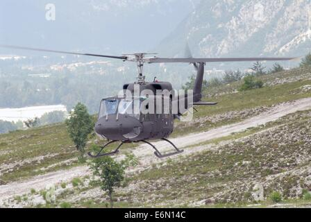 Italian Army, Agusta-Bell AB-212 helicopter - Stock Photo