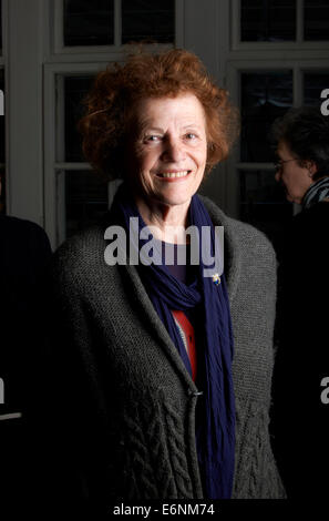 Elisabeth Luard at the Oldie Literary Lunch 14/05/13 - Stock Photo