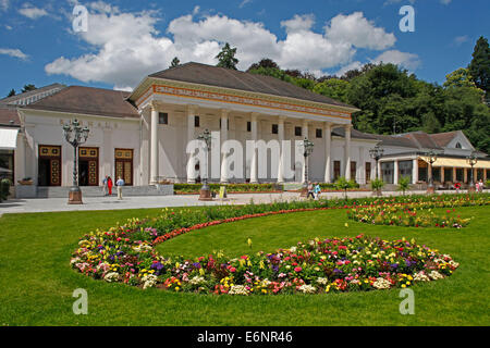 Assembly rooms at the health resort of Baden-Baden, Baden-Wuerttemberg, Germany, The Kurhaus is a spa resort, casino, - Stock Photo