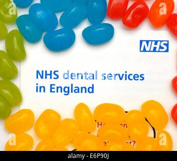 NHS dental services in England uk - Stock Photo