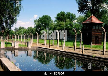 Auschwitz Concentration Camp Poland Built During The 2nd World War Stock Photo Royalty Free