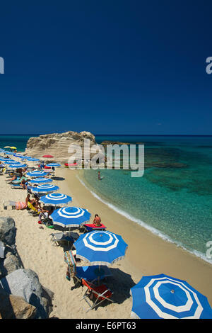 Beach of Tropea, Calabria, Italy - Stock Photo