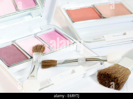Cosmetic And Beauty Products On Display Of Pharmacy