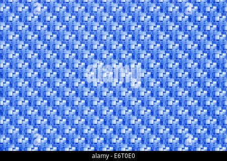 Abstract Blue Background With White Faint Detailed Checkerboard ...