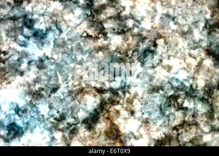 Rough paper texture, crumpled old paper sheet - Stock Photo