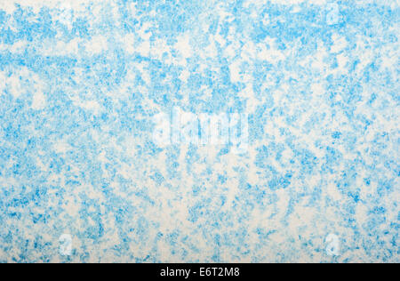 textured paper, Blue mottled background - Stock Photo