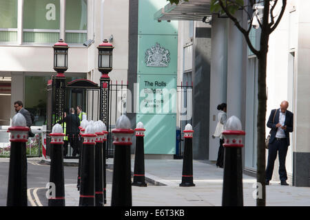 The Rolls building, Royal courts of Justice, London - Stock Photo