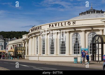 Winter Gardens Pavilion in Weston Super Mare - Stock Photo