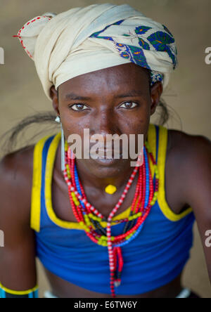 Erbore Tribe Man, Erbore, Omo Valley, Ethiopia - Stock Photo