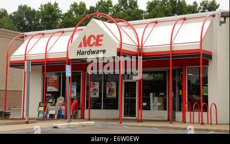 ANN ARBOR, MI - AUGUST 24: Ace Hardware east Ann Arbor store is shown on August 24, 2014.