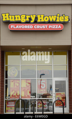 ANN ARBOR, MI - AUGUST 24: Hungry Howie's east Ann Arbor store is shown on August 24, 2014.