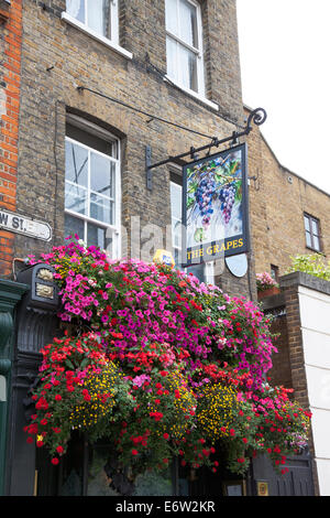 The Grapes Pub in Limehouse - Stock Photo