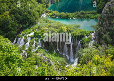 Plitvice lakes national park, Croatia - Stock Photo