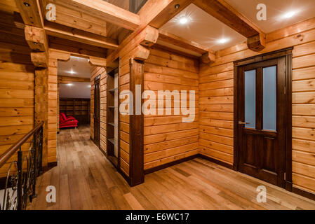 Log cabin - Stock Photo