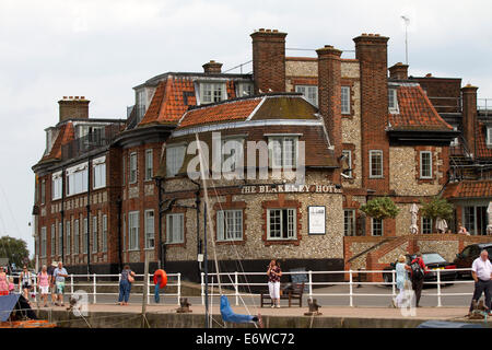 The Blakeney Hotel, North Norfolk. - Stock Photo