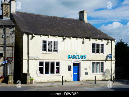Rural branch of Barclays Bank, in the village of Grassington, Wharfedale, Yorkshire Dales Nat Park, North Yorks, - Stock Photo