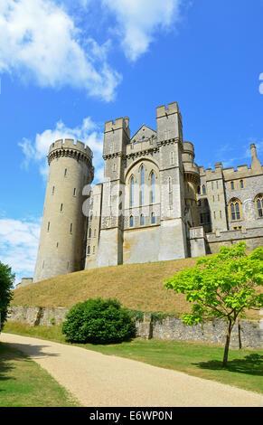 Arundel Castle, Arundel, West Sussex, England, United Kingdom - Stock Photo