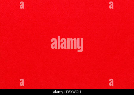 Smooth Red Felt Fabric Background Texture Top View. - Stock Photo