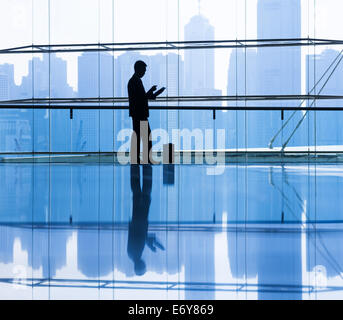 Businessman in the office. - Stock Photo