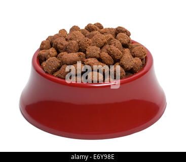 Pet Food Bowl Top Shot