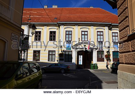 Croatian Museum of Naive Art, upper town, Zagreb, Croatia - Stock Photo