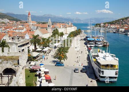 Trogir, Croatia. Old Town - Stock Photo