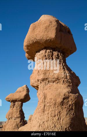 USA, Utah, near Hanksville, Goblen Valley State Park - Stock Photo
