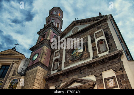 Vietri sul Mare church of Santo Giovanni Battista - Stock Photo