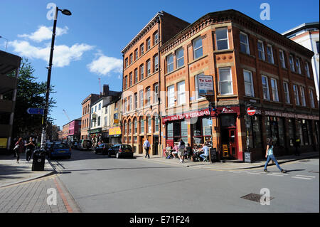 Tib street in the northern quarter manchester england for Terrace northern quarter