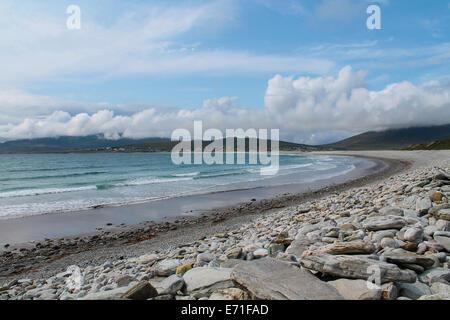Keel beach, Achill Island, County Mayo, Ireland - Stock Photo