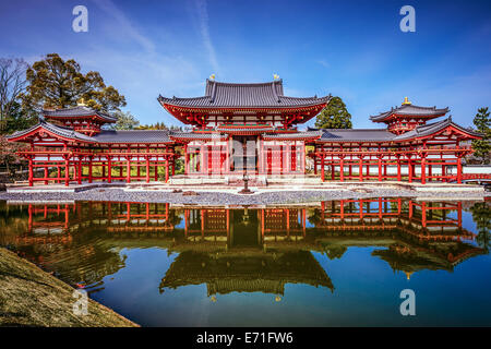 Kyoto, Japan at Byodo-in Temple and garden. - Stock Photo