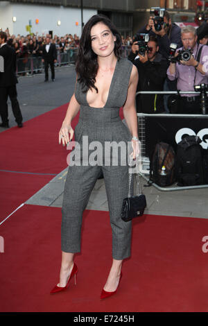 Daisy Lowe attends the GQ Men of the Year awards at The Royal Opera House on September 2, 2014 in London, England./picture - Stock Photo