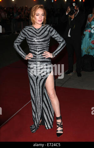 London, UK. 2nd Sep, 2014. Lindsay Lohan attends the GQ Men of the Year awards at The Royal Opera House on September - Stock Photo